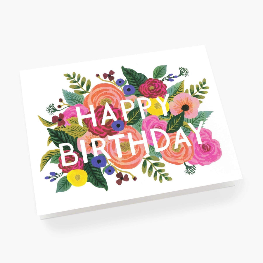 Rifle Paper Co Floral Julie Rose Birthday Card