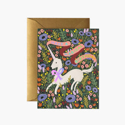 Rifle Paper Co Card - Magical Unicorn