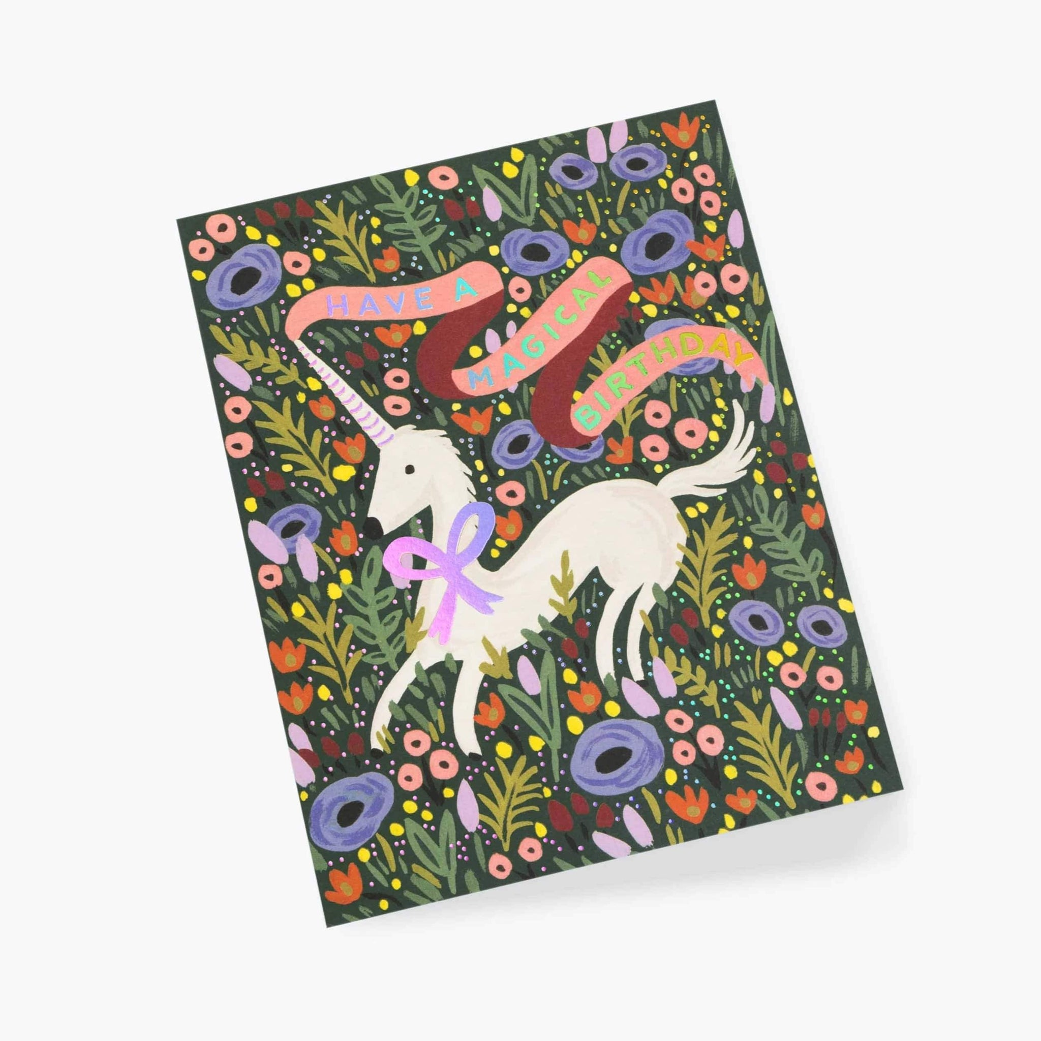 Rifle Paper Co Card Magical Unicorn Birthday Cards Online Uk Pretty Little Party Shop