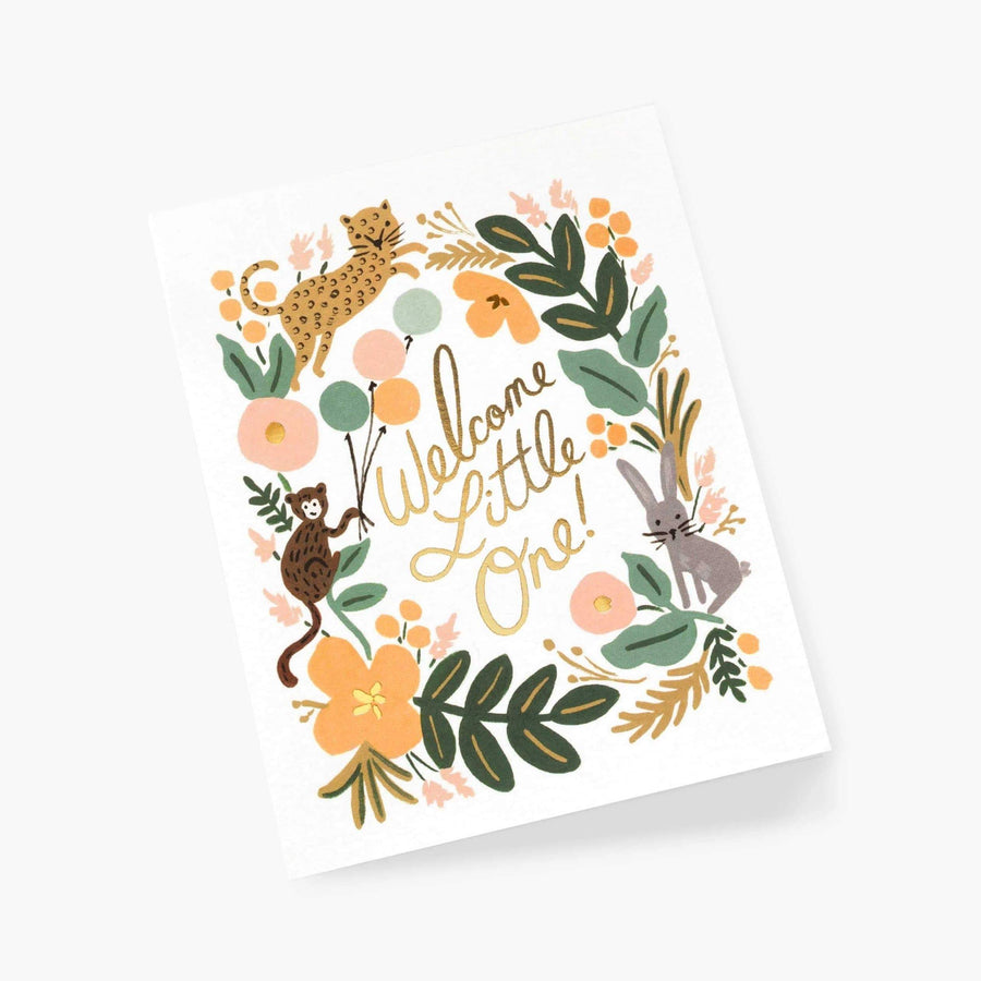 Rifle Paper Co Baby Card | Welcome Baby Card UK
