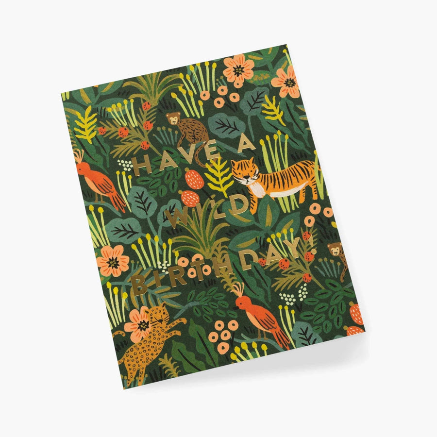 Rifle Paper Co Wild Birthday Card UK