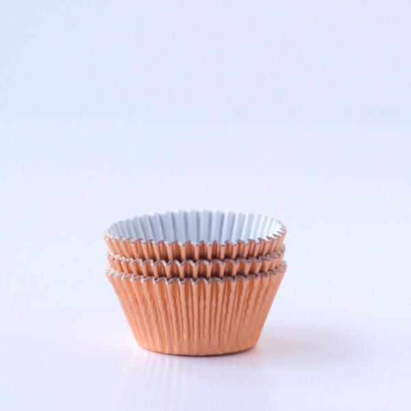 Rose Gold Cupcake Cases | Baking Supplies UK | Baking Cups