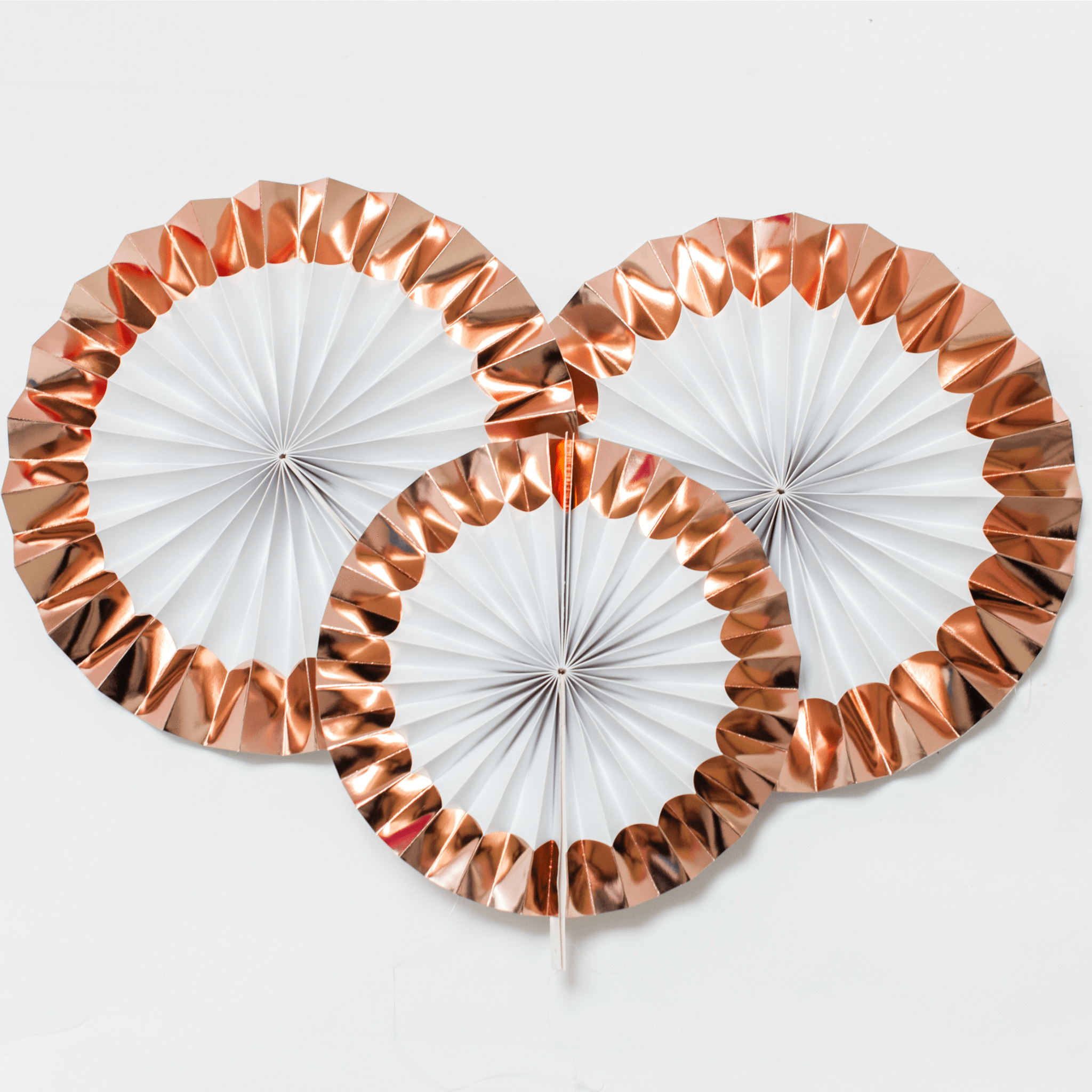 Rose gold Paper Fan Decorations Hen Party