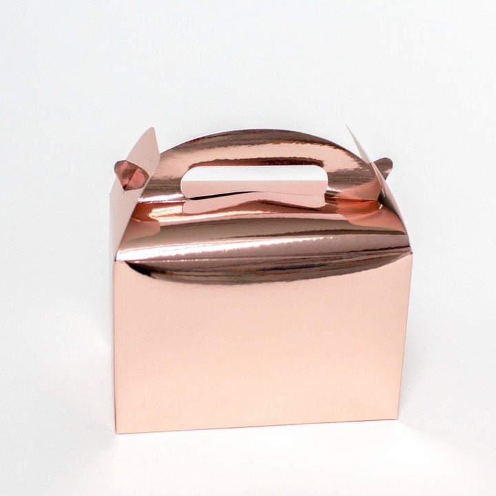 Rose Gold Shine Party Lunch Box