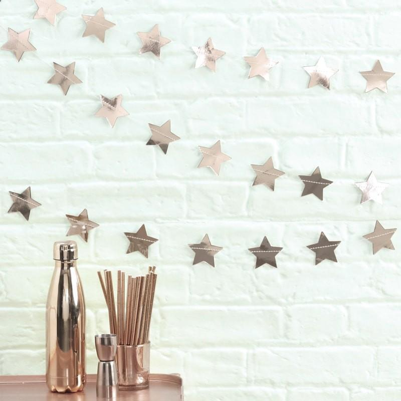 Rose Gold Star Garland | Ginger Ray