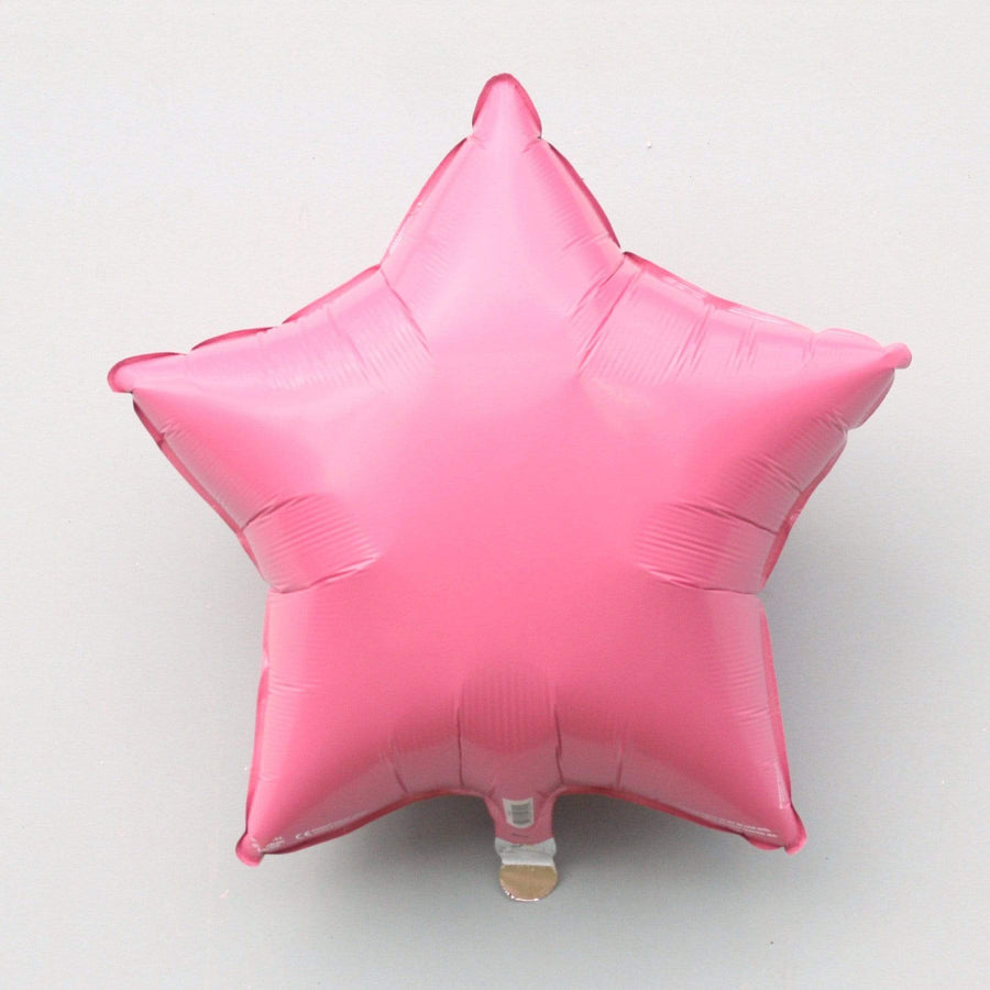 Rose Pink Star Foil Balloon | Helium Balloons Online
