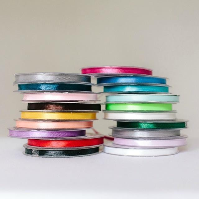 Satin Ribbon 6m 25m