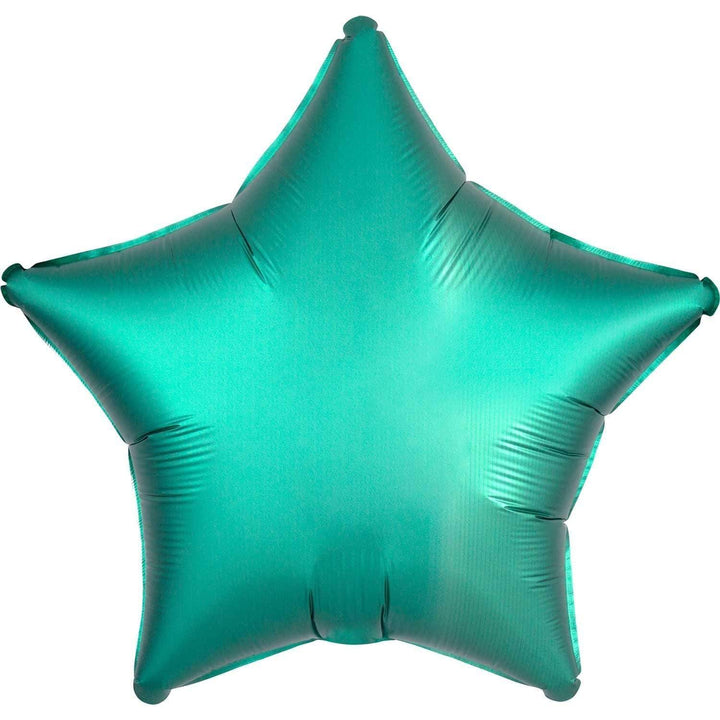 Satin Star Balloon - Jade Green
