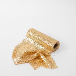 Sequin Fabric Roll - Gold (3m)