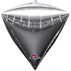 Silver Diamondz Balloon 17""