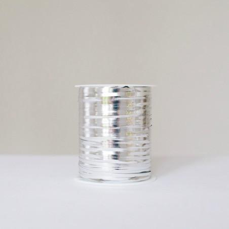 Silver Shiny Curling Ribbon