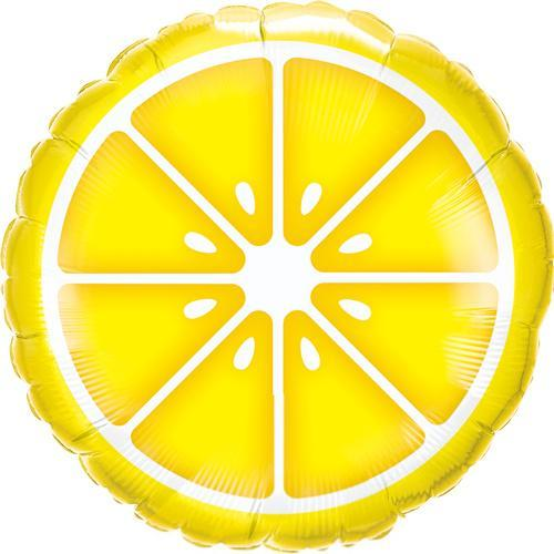 Slice of Lemon Foil Balloon
