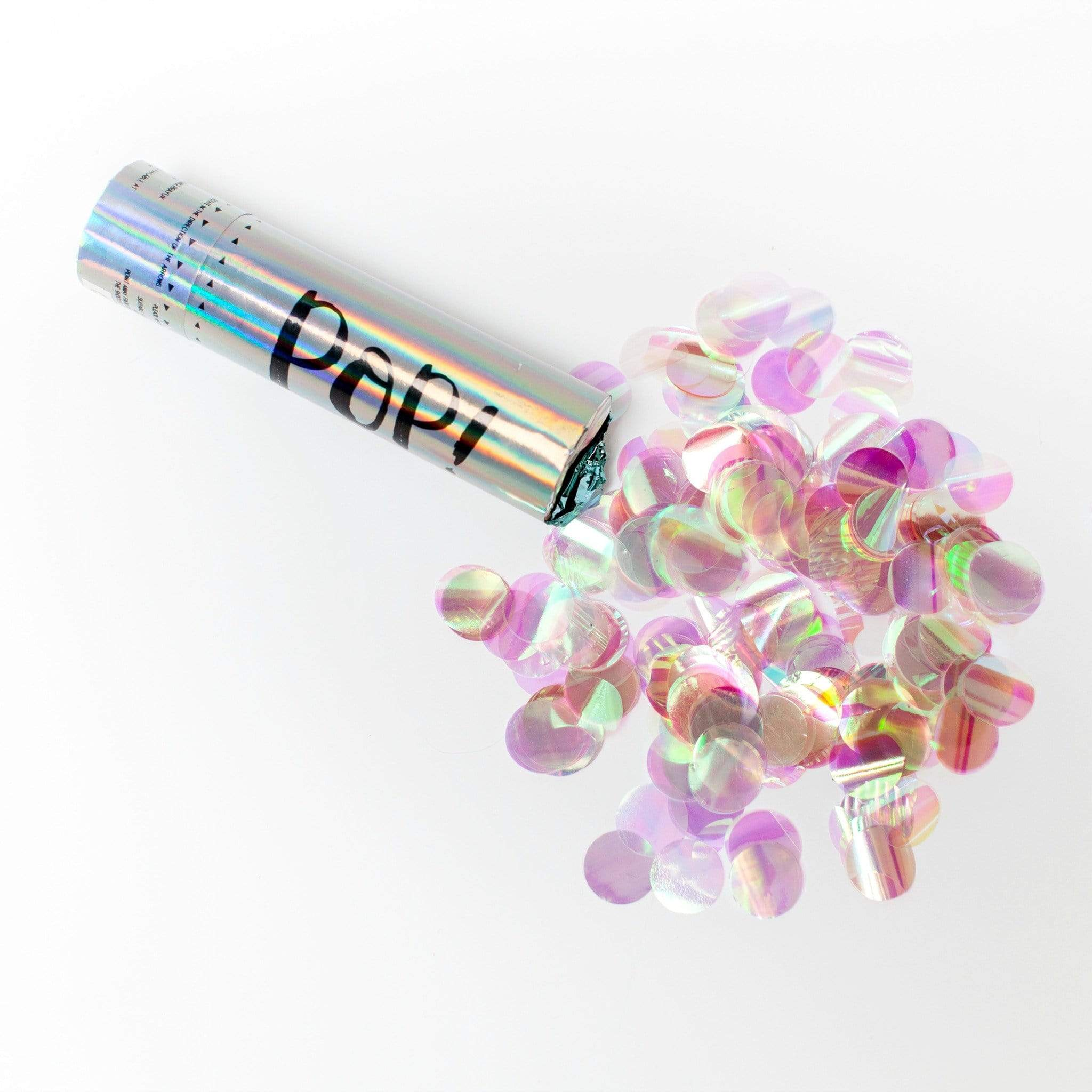 Iridescent Party Cannon Confetti | Ginger Ray | UK Party Supplies