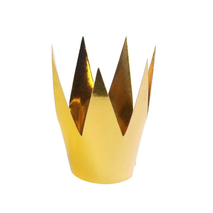 Small Party Crowns - Gold (3 Pack)