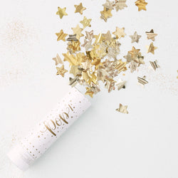 Small Star Confetti Cannon - Gold