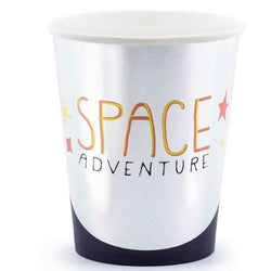 Space Adventure Party Cups (Pack of 6)