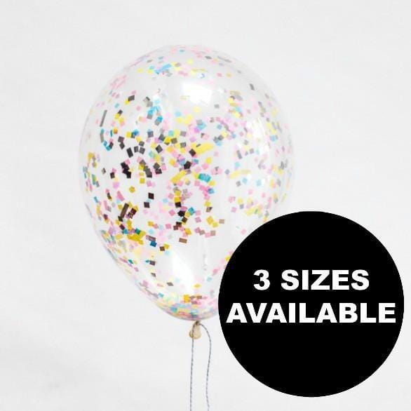 Spring Candy Sprinkle Confetti Balloons
