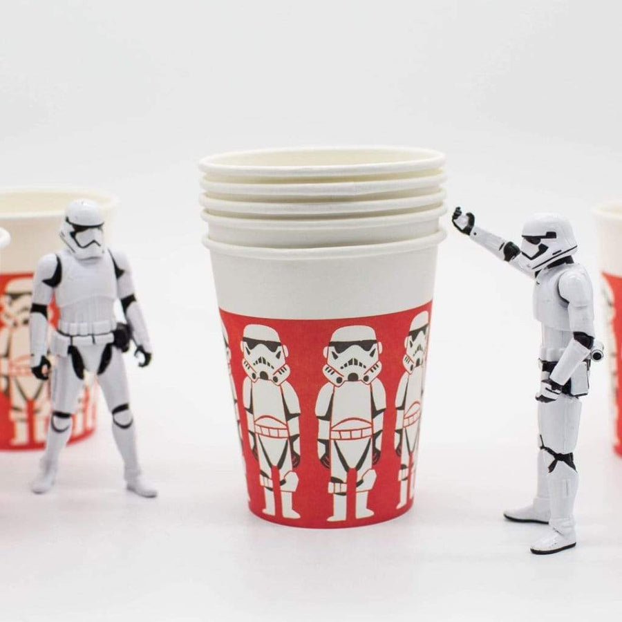 Star Wars Paper Party Cups | Stormtroopers