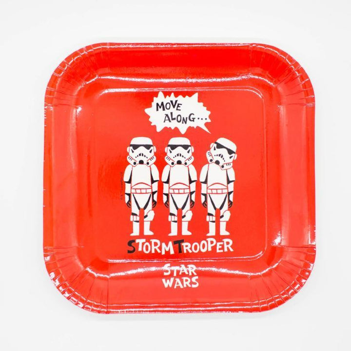 Star Wars Stormtrooper Large Plates (4 Pack)