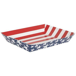 Stars and Stripes Snack Platter Tray