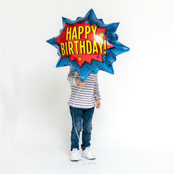 Super Hero Birthday Balloon
