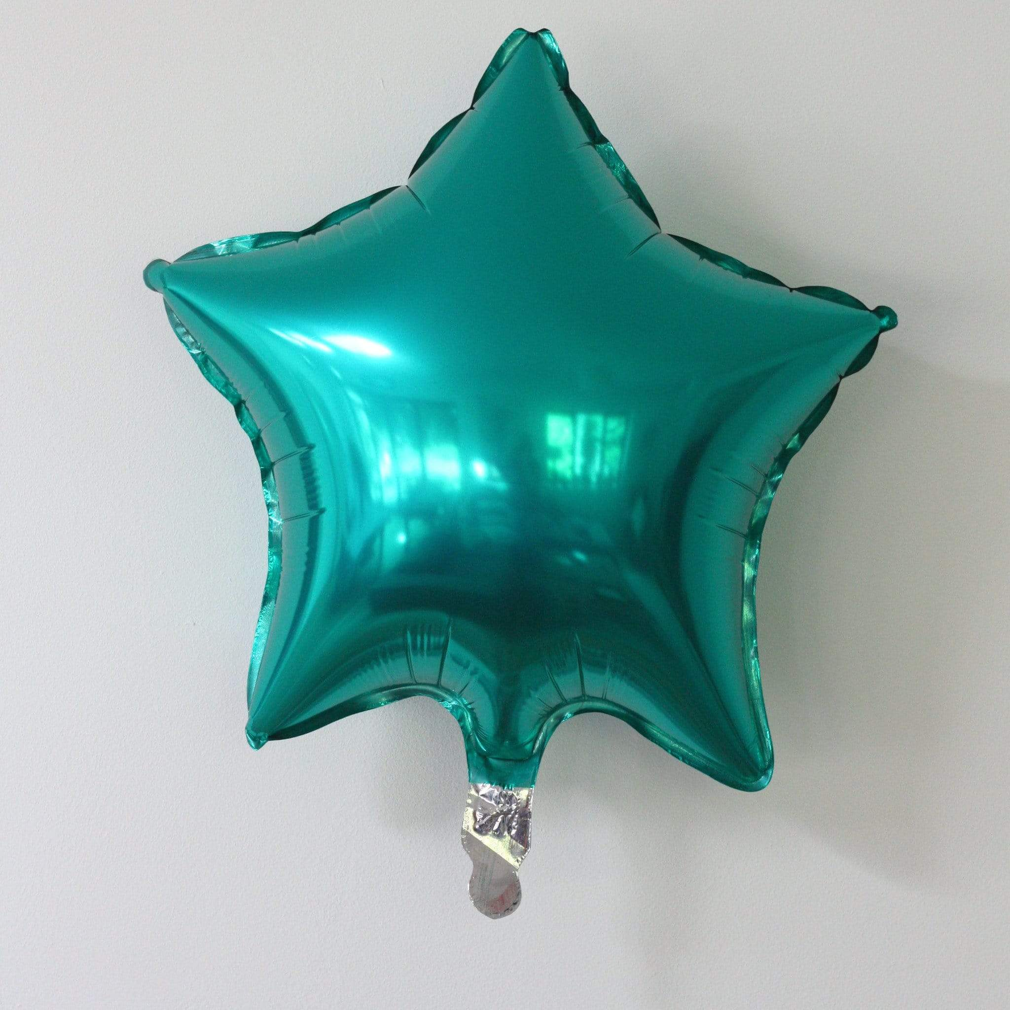 Teal Star Balloon | Teal Helium Balloon | Qualatex