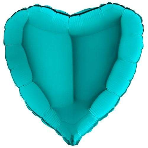 Tiffany Heart Shaped Balloon | Foil Balloons UK