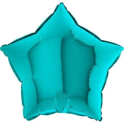 Tiffany Star Balloon | Tiffany Blue Helium Balloon