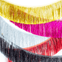Tinsel Fringe Garlands
