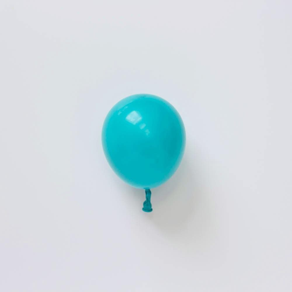 "Mini Carribbean Blue Balloon | 5"" Pastel Caribbean blue Balloon"
