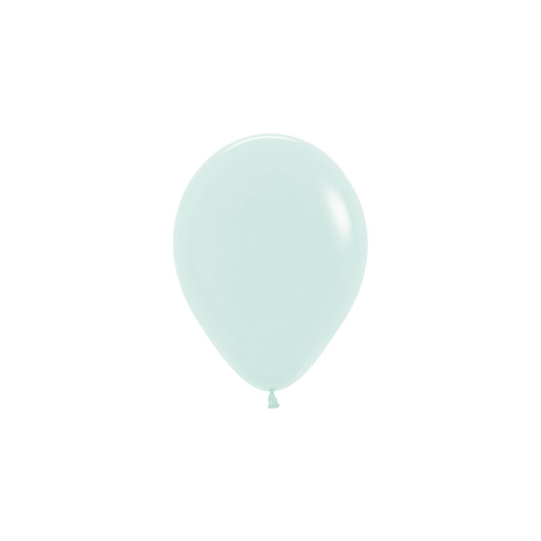 "Mini Chalk Pastel Green Balloon | 5"" Pastel Green Balloon"