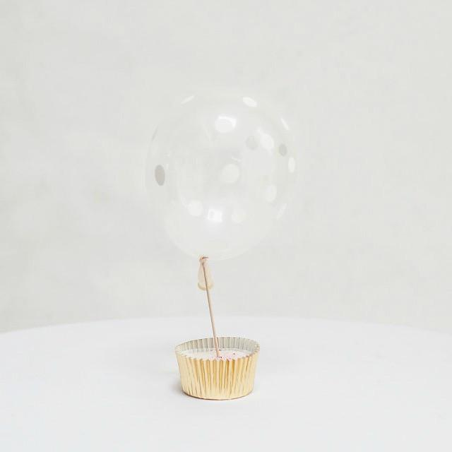 "Clear Polka Dot Tiny Balloon | Little 5"" Balloons 