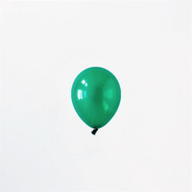 Mini Emerald Green Balloon