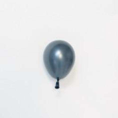 "Graphite Grey Tiny Balloon | Little 5"" Balloons 