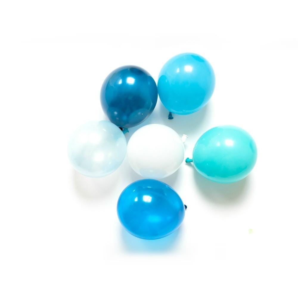 Mini Balloons | 5 Inch Little Balloons Blue