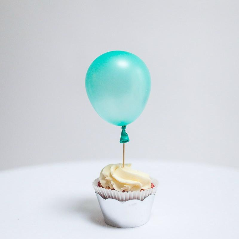 "Mint Tiny Latex Balloons | Little 5"" Balloons 