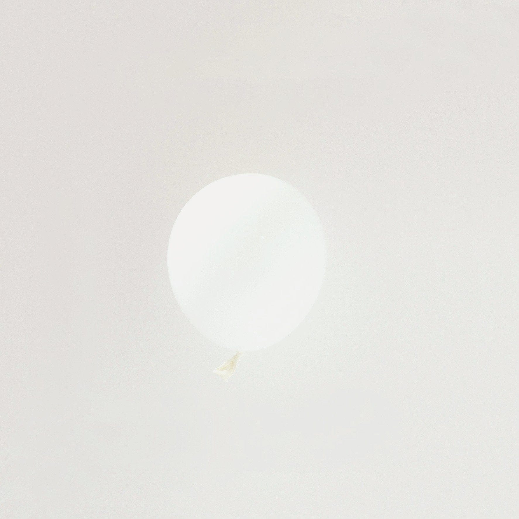 "Tiny Small White Tiny Latex Balloons | Little 5"" Balloons 