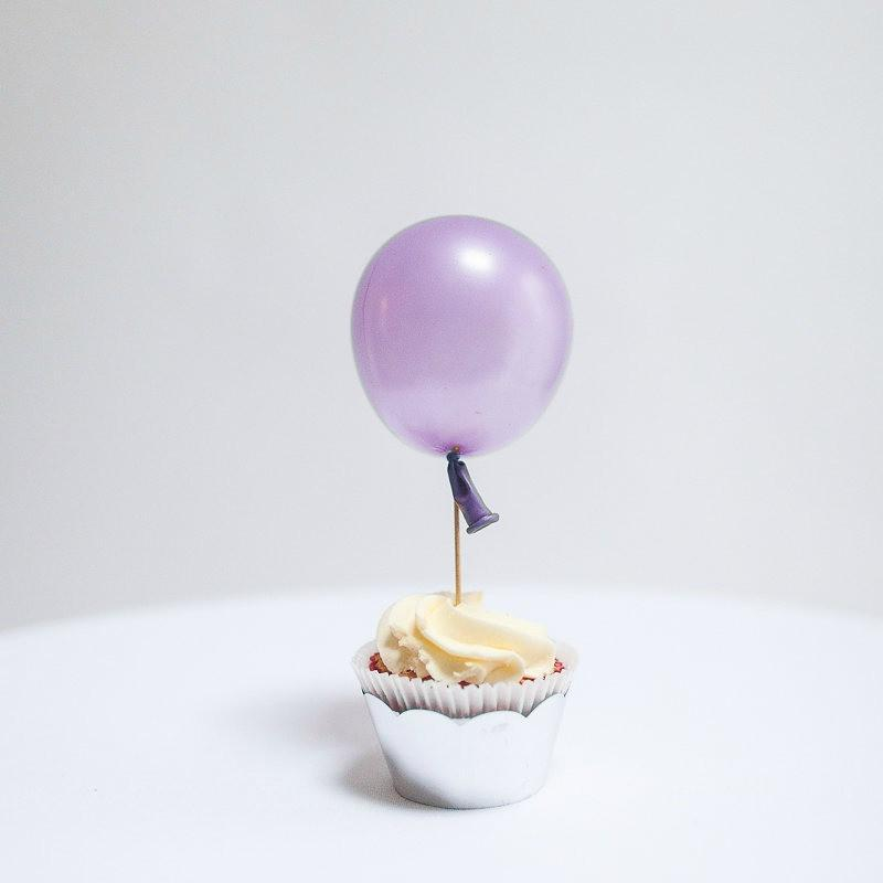 tiny balloon lilac 5""