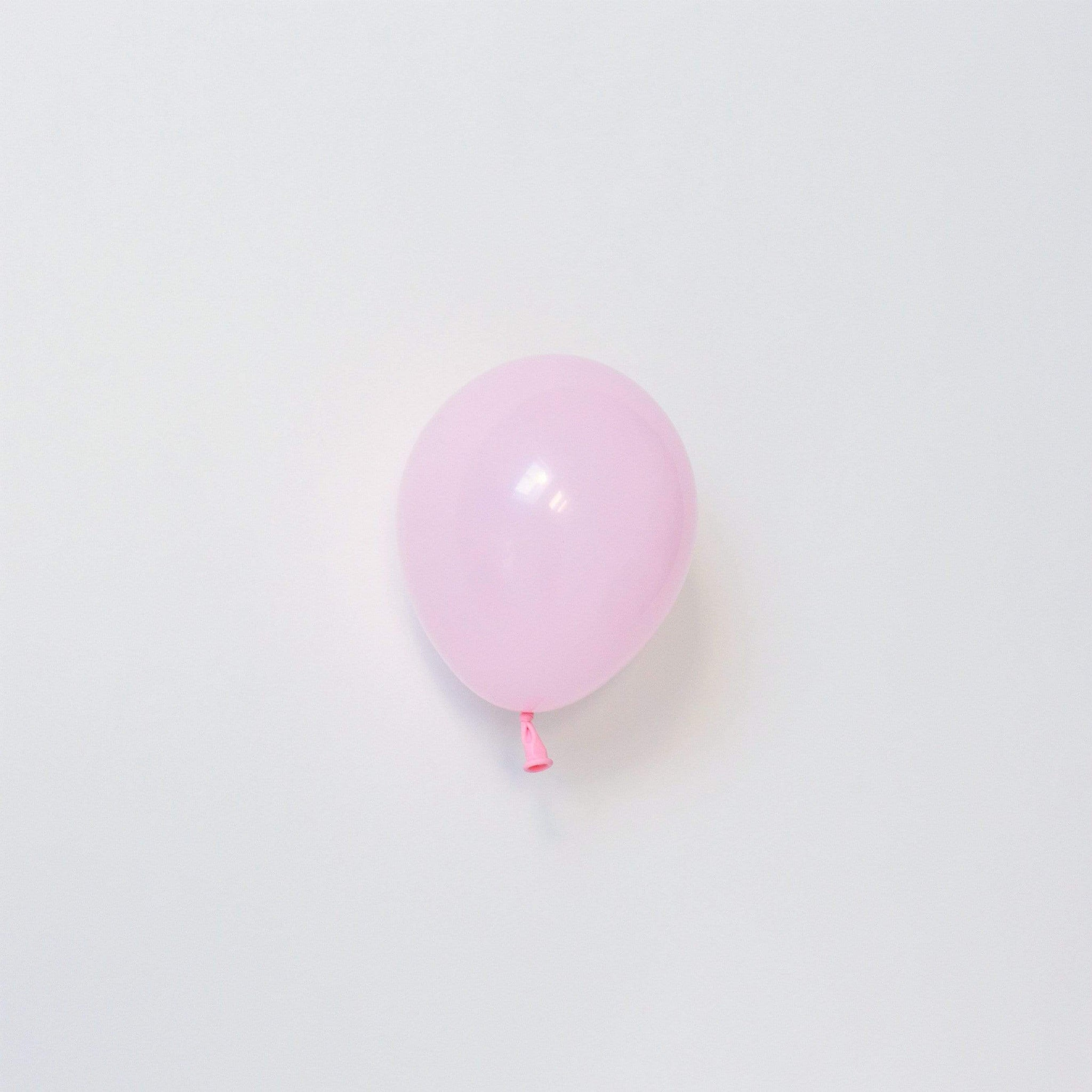 "Pink Tiny Latex Balloons | Little 5"" Balloons 