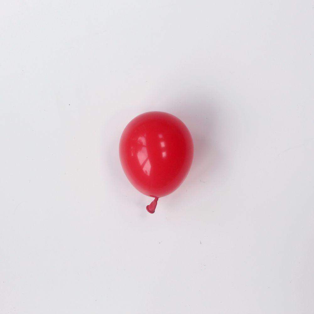 "Red Tiny Latex Balloons | Little 5"" Balloons 