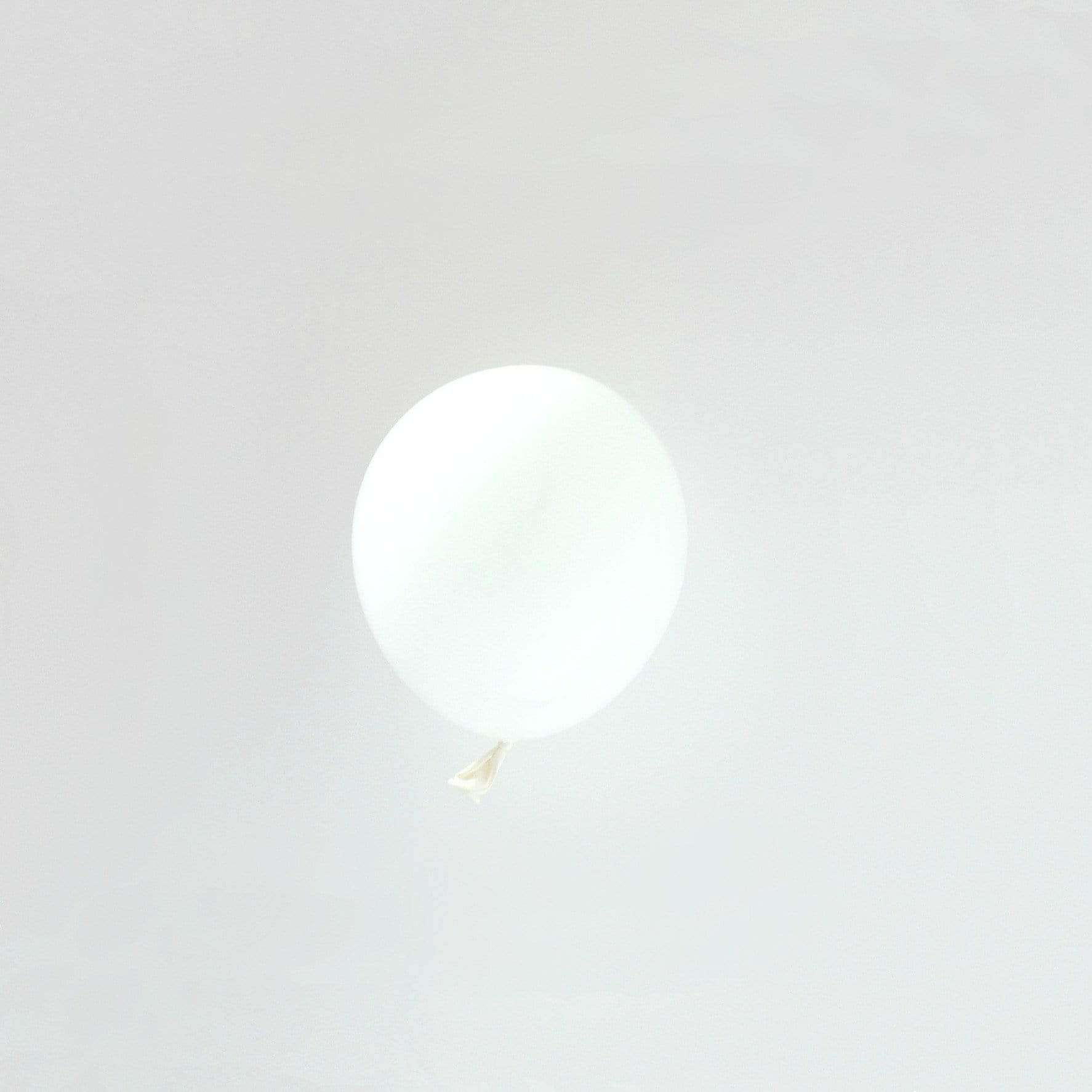 "White Tiny Latex Balloons | Little 5"" Balloons 