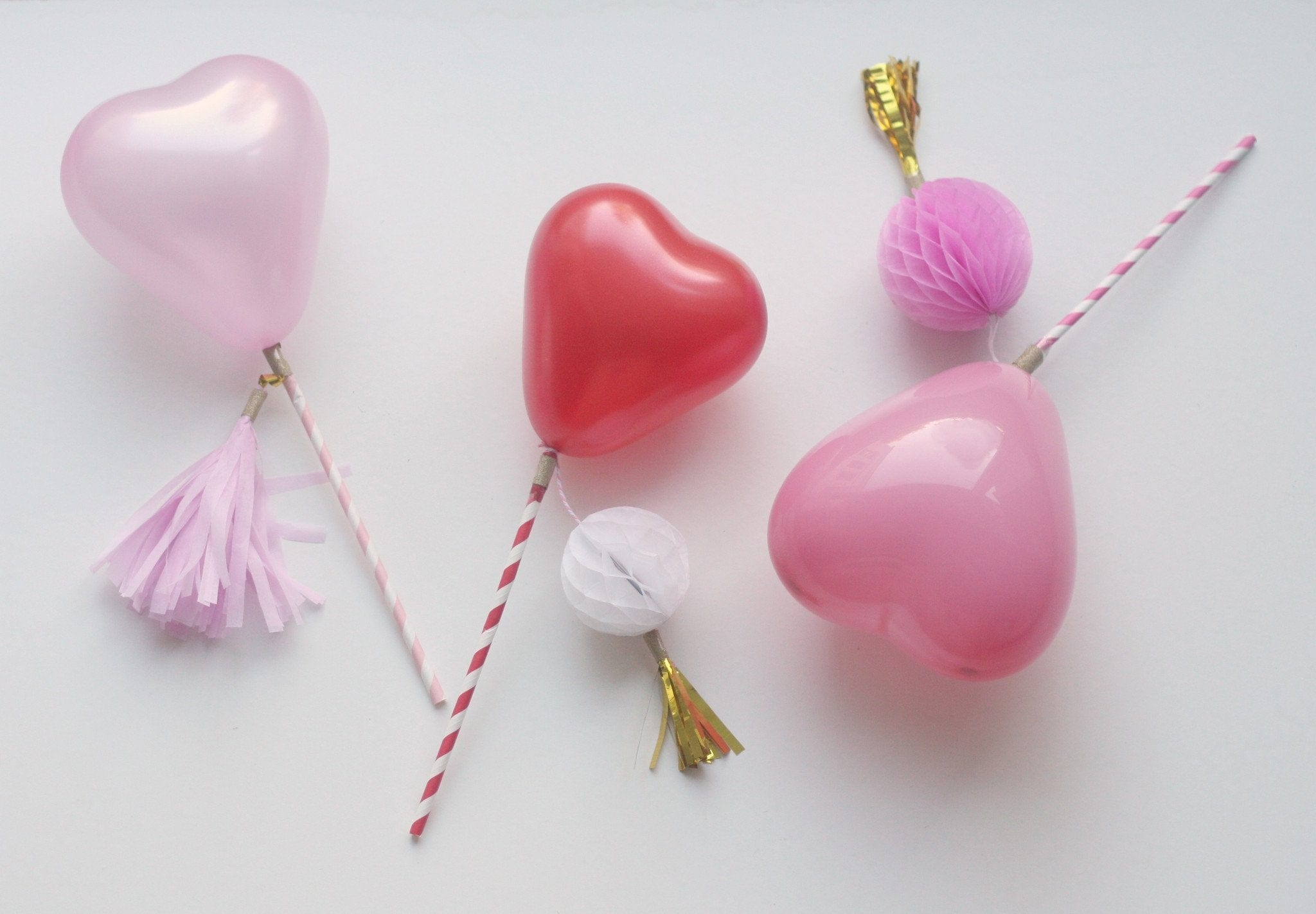 Mini Heart Balloons | Latex Heart Shaped Balloons