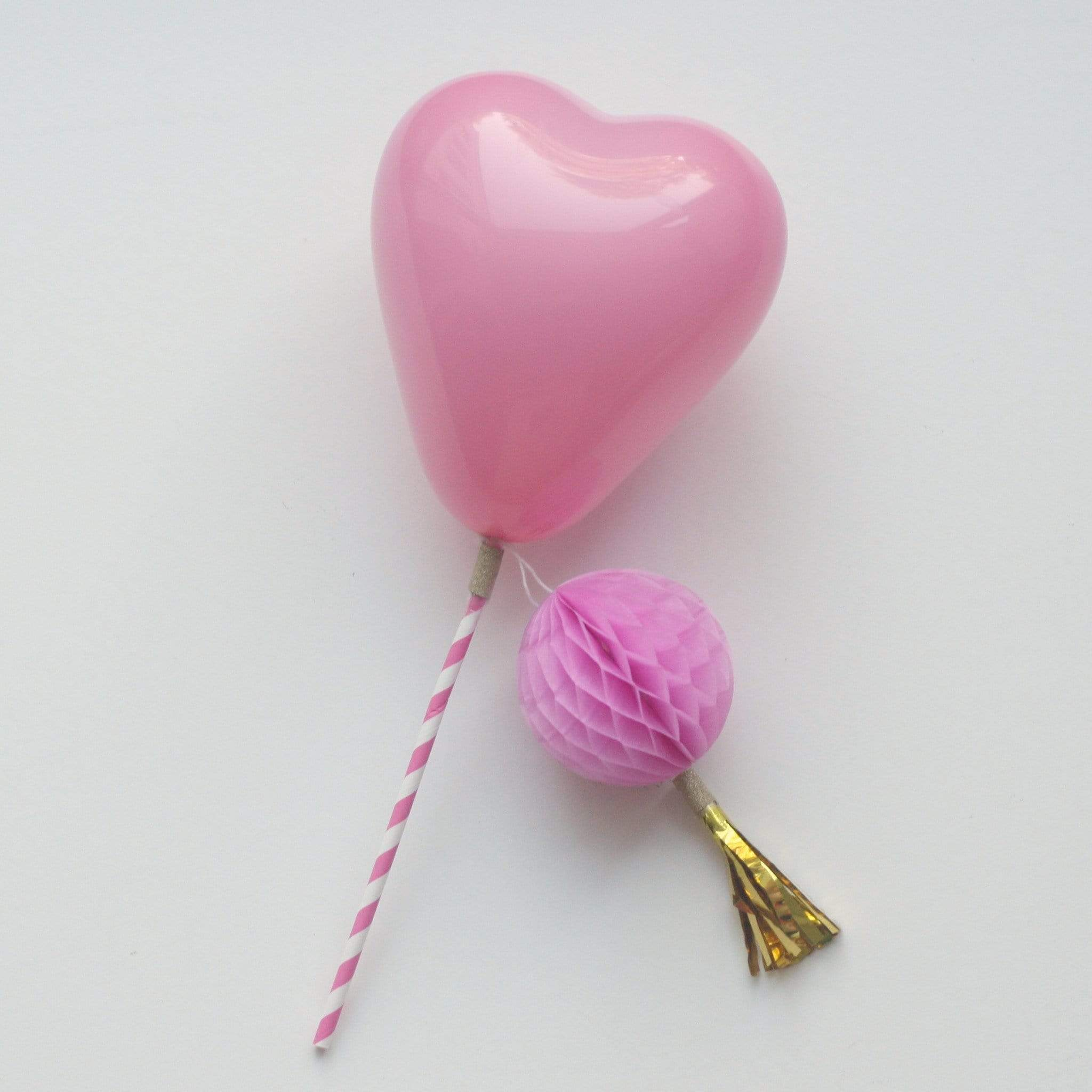 Tiny Heart Balloons | Little Latex Heart Shaped Balloons
