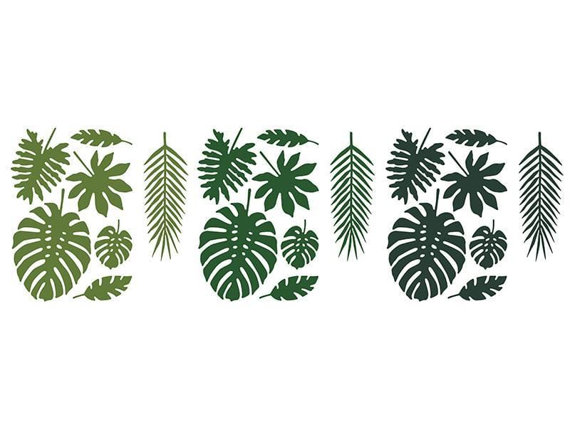 tropical Leaves paper Deorations | Jungle Party | Dinosaur Party