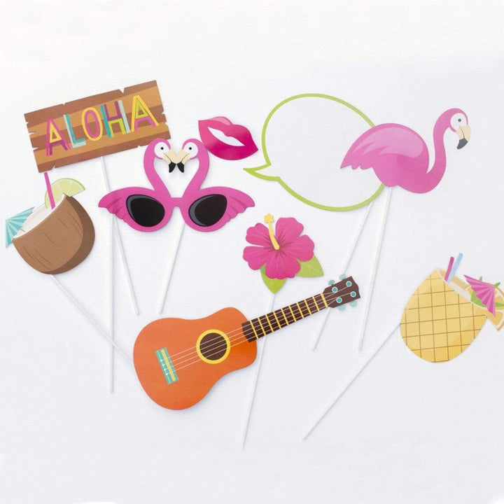 Tropical Luau Party Photo Props