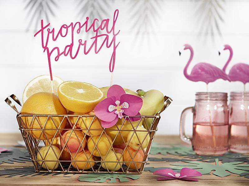 Tropical Cake Topper Decorations | Tropical Party Cake Topper