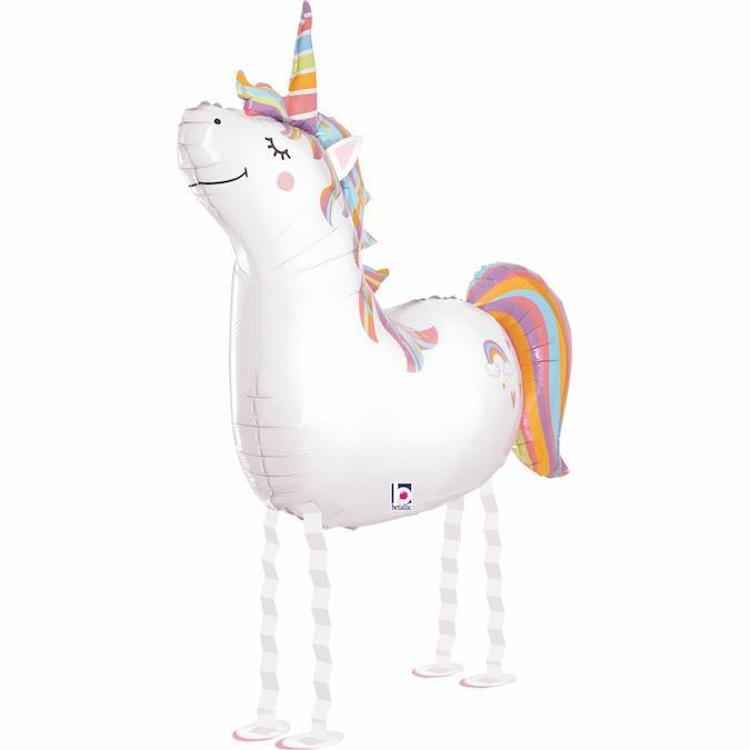 Unicorn Walker Friend Balloon | Unicorn Party Ideas