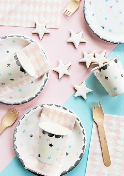 Unicorn Stars Small Cups (6 pack)