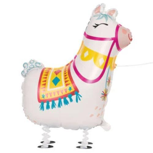 Walking Llama Balloon UK