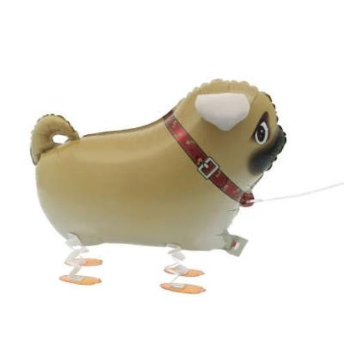 Walking Pet Pug Dog Balloon UK